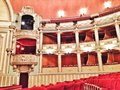Bucharest opera house concert hall and loges at Royalty Free Stock Photos
