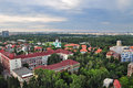 Bucharest panoramic view 3 Royalty Free Stock Photo