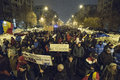 Bucharest protest against the government