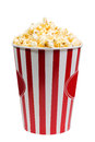 Bucket  popcorn Royalty Free Stock Photo