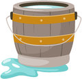 Bucket of water Royalty Free Stock Photo