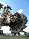 Bucket wheel excavator Royalty Free Stock Images
