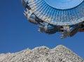 Bucket wheel excavator in exploitation Stock Photo