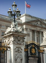 Buckingham Palace Royalty Free Stock Photo