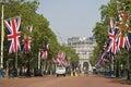 Buckingham Palace, Entrance Royalty Free Stock Photo