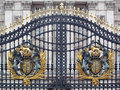 Buckingham Palace Gate. Royalty Free Stock Photo