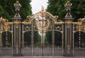 Buckingham Palace Gate London England Royalty Free Stock Photo