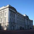 Buckingham palace london Royalty Free Stock Images