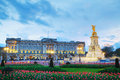 Buckingham palace in London, Great Britain Royalty Free Stock Photo