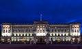 Buckingham Palace in London Royalty Free Stock Photo