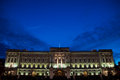 The buckingham palace in london uk Royalty Free Stock Photography