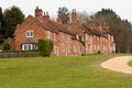 Bucklers hard cottages in the new forest Royalty Free Stock Image