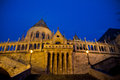 The buda castle in budapest evening Stock Photography