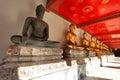 Buda em wat pho temple bangkok tailândia Fotografia de Stock