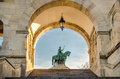 Budapest fisherman s bastion architecture detail Royalty Free Stock Images