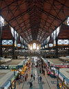 Budapest, Great Market Hall Royalty Free Stock Photos