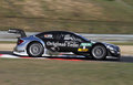 Budapest hungary march dtm mercedes brand new amg first laps with professional driver christian vietoris before official test Royalty Free Stock Photography