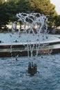 Budapest margit fountain beautyful musical Royalty Free Stock Photo