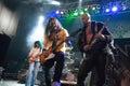 BUDAPEST-November 18: Winterborn band perform on B Stock Image