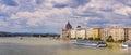 Budapest Panorama Royalty Free Stock Photo