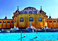 Budapest szechenyi baths Royalty Free Stock Photo