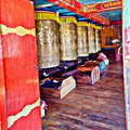 Budda Prayer Bells In Temple Royalty Free Stock Photo