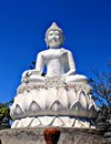 Buddah on a Hill Royalty Free Stock Photo