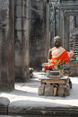 Buddha in Angkor Royalty Free Stock Image