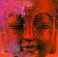 Buddha astratto Fotografie Stock Libere da Diritti