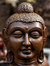 Buddha face a beautiful idol of Stock Image