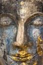 Buddha face, Sukhothai, Thailand. Stock Photo