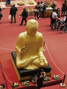 Buddha at the Festival of the Orient in Rome Italy