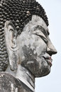 Buddha Head Flank Imagery Royalty Free Stock Photo