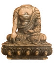 Buddha headless isolated Stock Photo