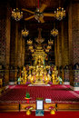 Buddha image tha unseen thailand Royalty Free Stock Images