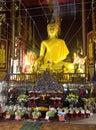 Buddha image in Thailand Stock Image