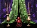 Buddha and  Incense Royalty Free Stock Photo
