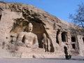 Buddha Joss in Yungang Grottoes