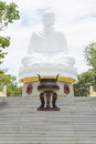 Buddha, landmark on Nha Trang, Vietnam Royalty Free Stock Photo