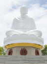 Buddha, landmark on Nha Trang, Vietnam Stock Photo