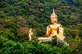 Buddha in the mountain ther is an Stock Photos