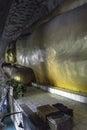 Buddha in old monastery big statue myanmar burma the carved the rock grottes de po win daung http www tripadvisor Stock Photography