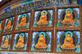Buddha paintings Stock Image