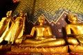 Buddha in phitsanulok city thailand Royalty Free Stock Images