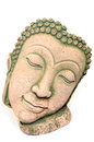 Buddha portrait souvenir made of sand stone from thailand Stock Image