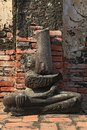 Buddha ruin Stock Photography