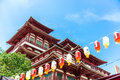 Buddha s relic tooth temple in singapore chinatown this image shows the detail of the Stock Image