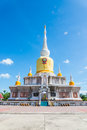 Buddha s relics in thailand name is phra tard na dun Stock Images
