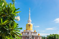 Buddha s relics in thailand name is phra tard na dun Stock Photography