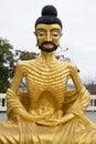 Buddha starving Royalty Free Stock Photo